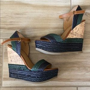 Mossimo Wedges New Sz 7.5